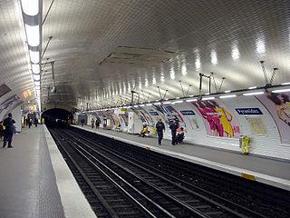 Pyramides (Paris Métro) Paris Métro station