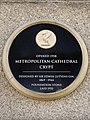 Metropolitan Cathedral Crypt plaque Liverpool.jpg