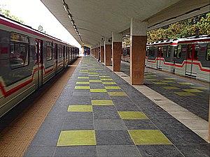 Didube (Tbilisi Metro) - Image: Metrostation Didube