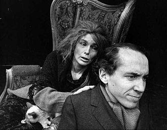 Priscilla Pointer - Priscilla Pointer and Michael Dunn (c. 1968)