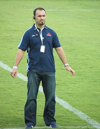 Michael Foley (rugby union) - Michael Foley as NSW Waratahs head coach