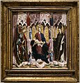 Michael pacher (attr.), madonna col bambino ion trono e santi, 1475 ca. 01.jpg