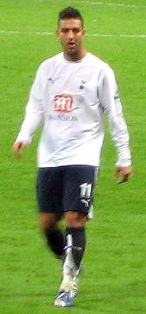 Mido (footballer) - Mido playing for Tottenham Hotspur in 2007