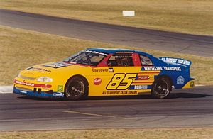 NASCAR in Australia - The final Australian champion, Andrew Miedecke (Chevrolet Monte Carlo) at Queensland Raceway in 2001.