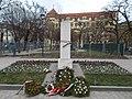 Mihály Horváth memorial column by Árpád Domján, 2016 Józsefváros.jpg