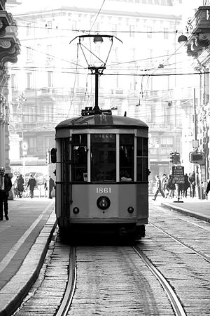 Track gauge in Italy - The Milan tramway network, the largest in Italy, runs on Italian broad gauge.