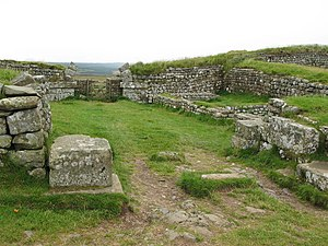 Milecastle 37 - Remains of Milecastle 37