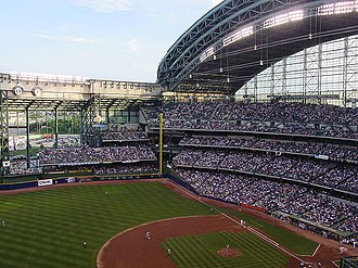 Sports in Milwaukee - Miller Park, Home of the Milwaukee Brewers
