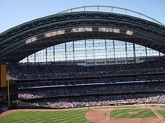 Miller Park (Milwaukee) - Miller Park in 2009