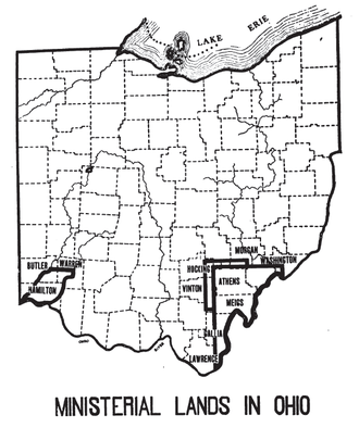 Ministerial Lands - Areas in Ohio with Ministerial Lands