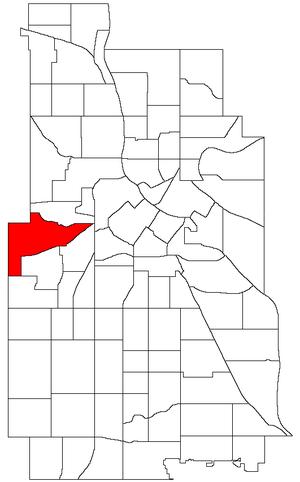 Bryn Mawr, Minneapolis - Image: Minneapolis Bryn Mawr Neighborhood