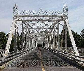 Dominion Bridge Company - Minto Bridge in Ottawa, built in 1900