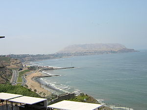 Miraflores District, Lima - Miraflores beach