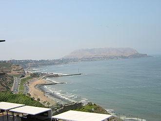 Miraflores District, Lima - Miraflores beach