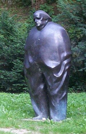 Miroslav Krleža - Image: Miroslav Krleža (Zagreb)