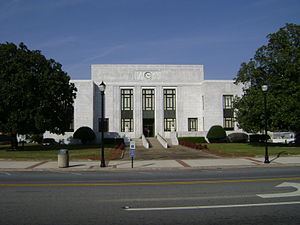 Mitchell County, Georgia - Image: Mitchell County Courthouse (South face)