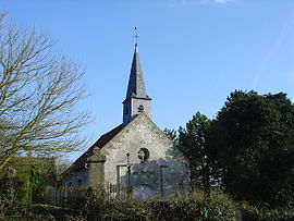 The church of Monchel-sur-Canche
