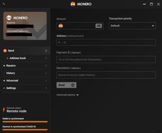 Monero (cryptocurrency) - Monero GUI 0.12.3.0 on Windows 10