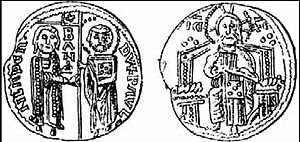 Paul I Šubić of Bribir - Coins issued by Paul I Šubić of Bribir. It reads:  DVX PAVL – BAN –MLADEN.