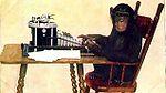 הקוף מקליד באקראי