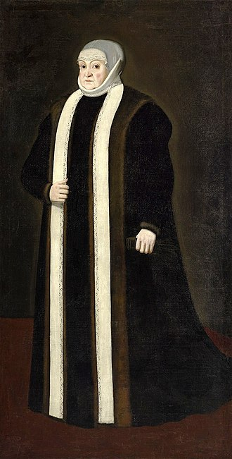 Bona Sforza - Bona Sforza as a widow in 1551