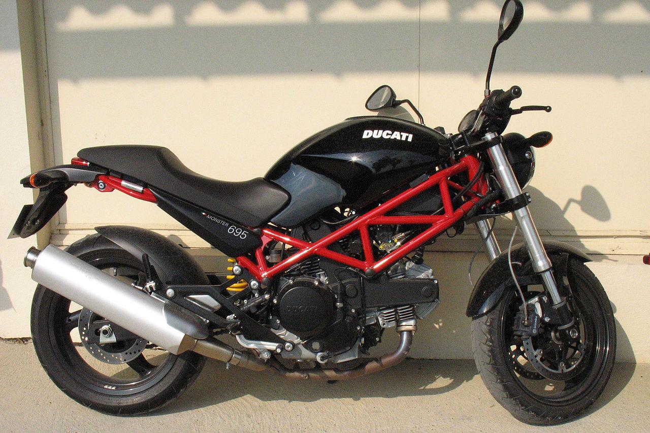 Ducati Monster Muffler