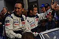 Montagny and Minassian Le Mans drivers parade 2011.jpg