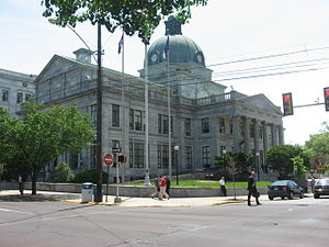 Norristown, Pennsylvania - Montgomery County Courthouse