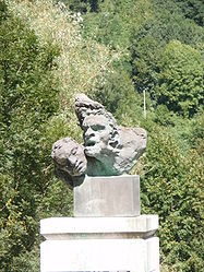 War memorial, sculptor Antoine Bourdelle