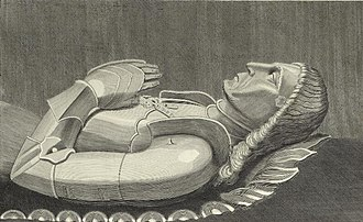 Richard Herbert of Coldbrook - Monumental effigy of Richard Herbert