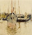 Morisot - boats-entry-to-the-medina-in-the-isle-of-wight.jpg