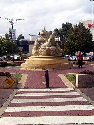 Morley, Western Australia - Bishop Street, Morley