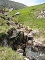 Mossy waterfall - geograph.org.uk - 1373179.jpg
