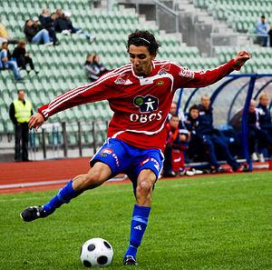 Mustafa Abdellaoue - Mos in action for Skeid