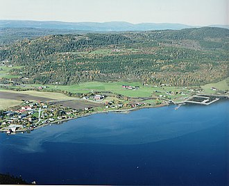 Mosvik - View of the village
