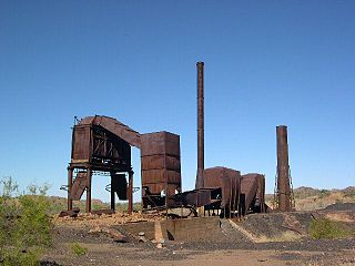 Mount Cuthbert Township and Smelter