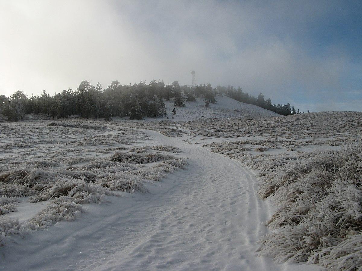 Mount Pinos - Wikipedia