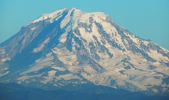 Auburn, Washington - Mount Rainier seen from Auburn's Centennial Viewpoint Park on West Hill