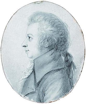 Dora Stock - Dora Stock's 1789 portrait of Mozart