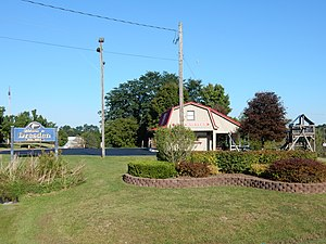 Dresden, Yates County, New York - View from New York State Route 14.