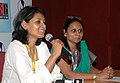 Ms. Nandita Das, Director of the film ' Firaaq' addressing at a Press Conference during the 40th International Film Festival (IFFI-2009), in Panaji, Goa on November 25, 2009.jpg