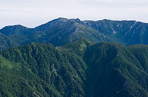 Mt.Kisokomagatake from Mt.Utsugidake 01.jpg