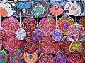 Multihued Lollipops for Sale - Chapultepec Park - Mexico City - Mexico (25099797898).jpg