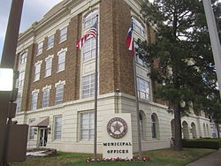 Municipal Building in Texarkana, Texas