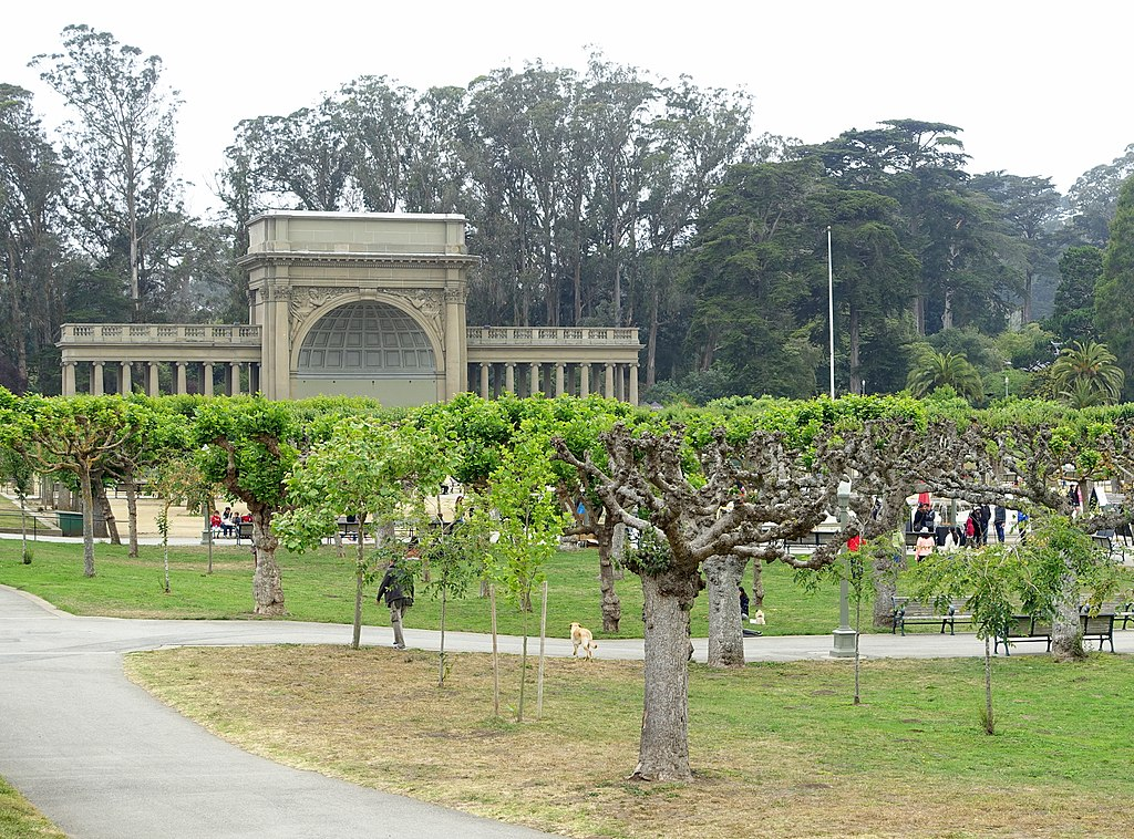 Music Concourse - Golden Gate Park, San Francisco, CA - DSC05274