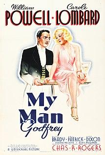 <i>My Man Godfrey</i> 1936 American comedy-drama film directed by Gregory La Cava