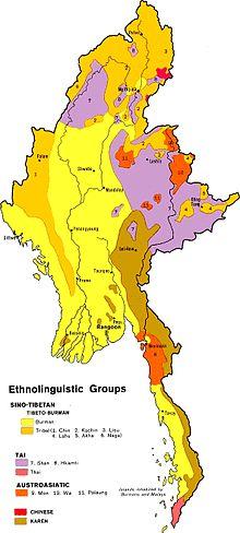 Mappa linguistica