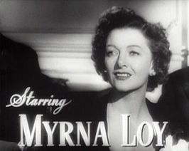Myrna Loy in The Best Years of Our Lives
