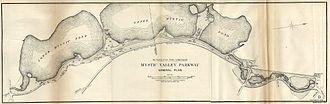 Mystic Valley Parkway - Image: Mystic Valley Parkway General Plan, November 1895