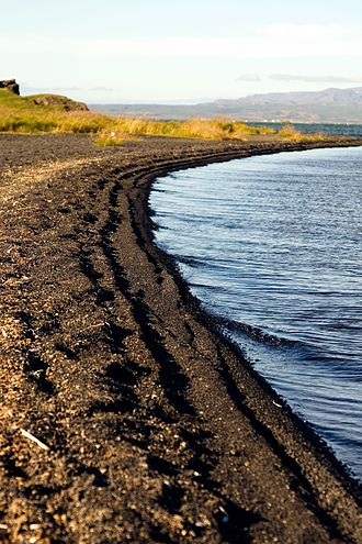 Mývatn - Shore of Mývatn.